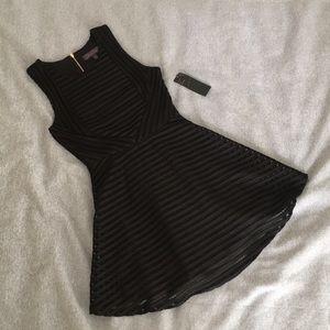 NWT Black Fit & Flare Dress